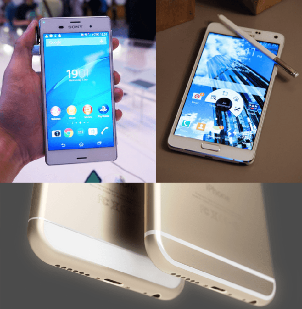 「iPhone 6」「Xperia Z3」 「GALAXY Note4 」気になる日本発売日やスペック 2014.9.4時点
