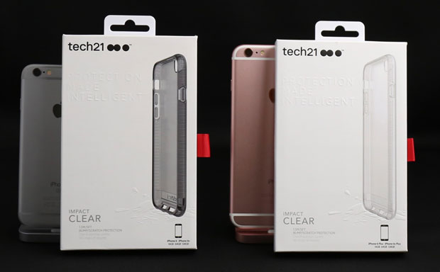 【iPhone6s/Plus ケースレビュー】Tech21 Impact Clear Case