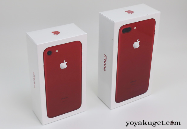 iPhone7/7 Plus (PRODUCT)RED の在庫はかなり豊富?